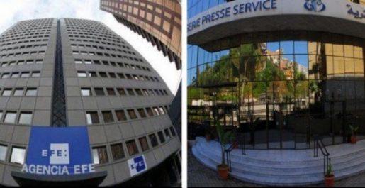 Signature d'un mémorandum d'entente entre l'APS et l'agence de presse espagnole EFE