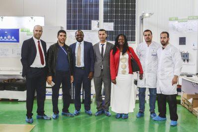 L'ambassadeur de l'Ouganda en visite aux usines du groupe Condor.