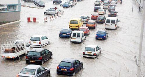 Pluies diluviennes à Boumerdès : Bienfaits pour l'agriculture et désagréments dans le trafic routier
