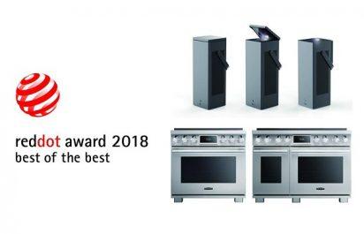 Encore une fois, LG obtient les plus hautes distinctions au Red Dot Awards de 2018
