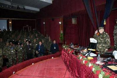 Il a insisté sur la disponibilité au combat de l'anp : Les messages codés de Gaïd Salah