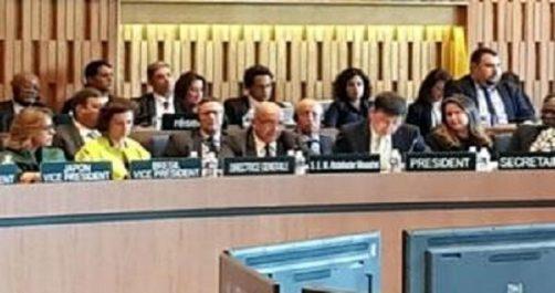Lors de sa participation dans le cadre de la journée internationale du vivre ensemble en paix : Messahel expose l'expérience algérienne
