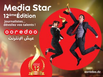 Ooredoo lance la 12ème édition de son concours « Media Star »