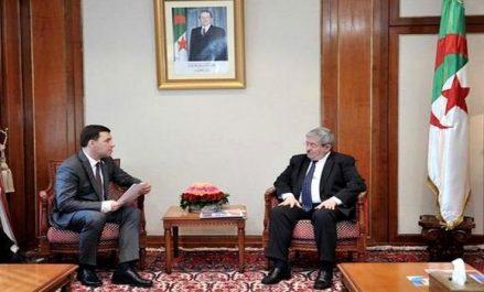 Algérie-Russie: Ouyahia reçoit le Gouverneur de la région de Sverdlovsk