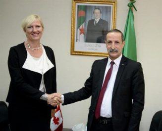 Kaouane reçoit l'ambassadeur du Canada, l'excellence des relations bilatérales soulignée