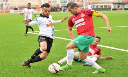 Ligue 1: le NAHD solide dauphin, le MC Alger piégé par l'USMBA