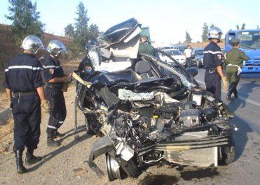 Accidents de la route: 688 morts et 7.365 blessés durant le premier trimestre 2018