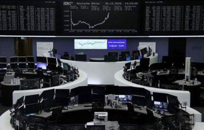 Bourses : Les places européennes terminent en baisse ou à l'équilibre