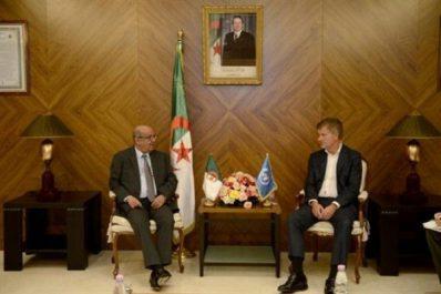 Messahel reçoit le directeur exécutif du programme de l'ONU pour l'environnement