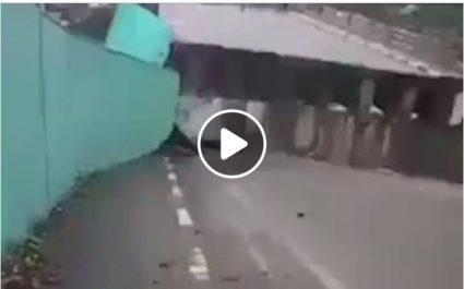 Vidéo: L'axe Médéa-Chiffa fermé à la circulation, le trafic routier dévié vers les RN 18 et 62