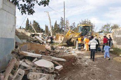 Constructions illicites à Annaba: Poursuite des opérations de démolitions