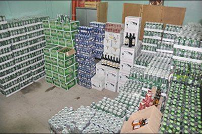 Hennaya : Près de 1.500 unités de boissons alcoolisées saisies