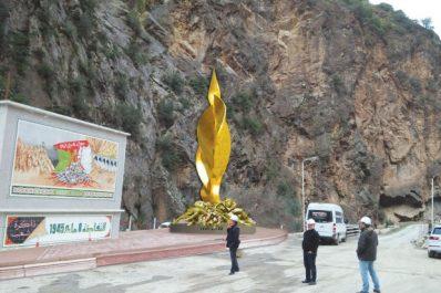 Evénements du 8 mai 1945 à Béjaïa : Une stèle commémorative aux gorges de Kherrata