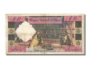 Cela s'est passé un 10 avril 1964, le Dinar algérien remplace le Franc français