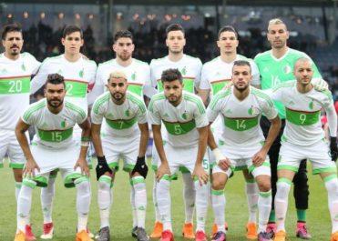 Classement FIFA: l'Algérie recule de deux places (62e)