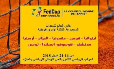 Tennis/Fed-Cup 2018: l'Algérie avec 4 joueuses à Tunis, Ibbou déclare forfait
