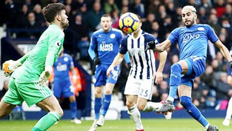 Mahrez rate sa sortie face à Newcastle !