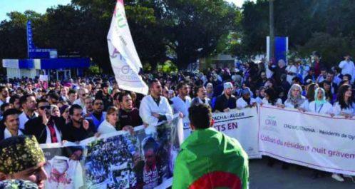 Médecins résidents: une marche prévue cette semaine sur Alger