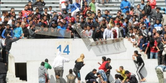 Violences dans les stades : 8 supporters, sous les verrous