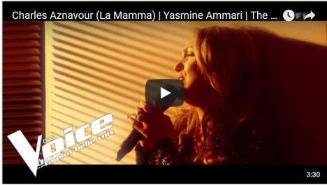 Vidéo: L'Algérienne Yasmine Ammari se qualifie au tour suivant de «The Voice»