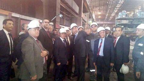 Youcef Yousfi au Complexe sidérurgique Sider : «Vous n'êtes plus seuls sur le marché»