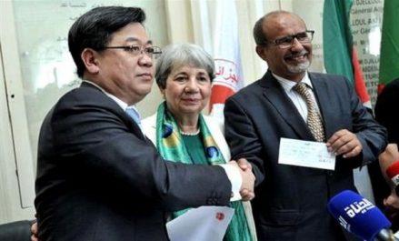 Un don chinois de 10 millions de dinars pour les réfugiés sahraouis