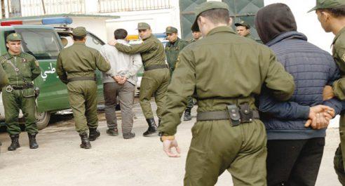 Arrestation d'un patriote en possession d'un fusil à pompe !