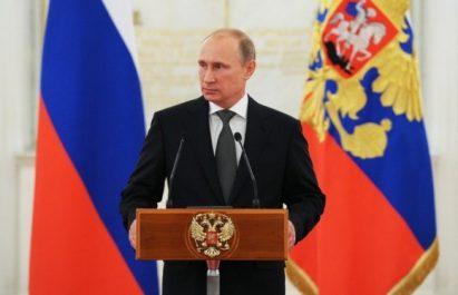Investiture : Vladimir Poutine s'engage à «assurer un avenir paisible à la  Russie»