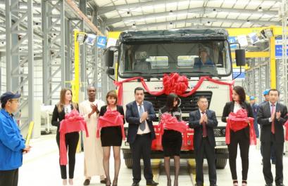 Industrie mécanique : Inauguration de l'usine Shacman