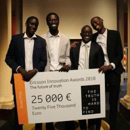 Ericsson Innovation Awards 2018 : Le Sénégal met l'Afrique à l'honneur