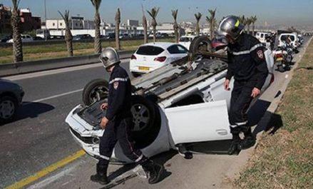 Accidents de la circulation : 25 morts et 954 blessés en une semaine