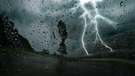 Pluie et orage sur le Centre et l'Ouest du pays