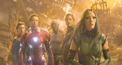 Box-office US : «Avengers : Infinity War», meilleur démarrage de tous les temps