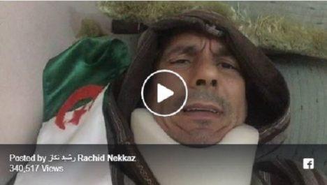 Vidéo: Sur un live Facebook Rachid Nekkaz revient sur l'incident avec la police algérienne