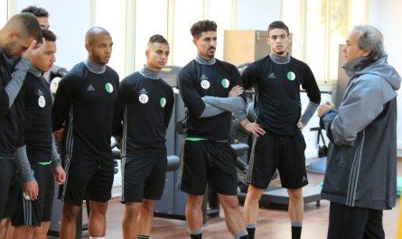Madjer: «l'équipe type se dégagera après les matchs face au Cap Vert et le Portugal»