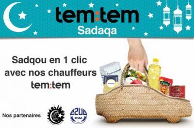 Communiqué : tem:tem, l'ETUSA et la fondation Ness El Khir se mobilisent ensemble pour les plus démunis pendant le Ramadan