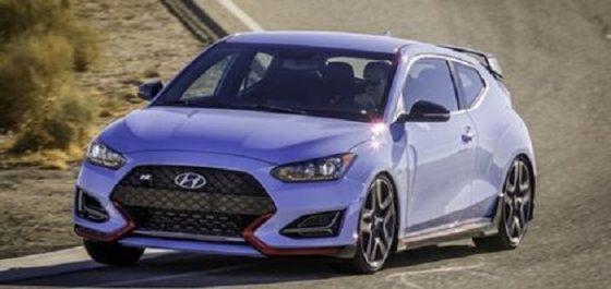 Hyundai Motor : La Hyundai lancera la Veloster N le mois prochain
