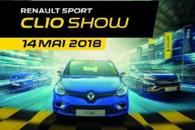 Renault Algérie : Programme du «Renault Sport Clio Show»