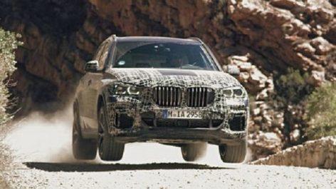 BMW Group : Photos et vidéos du nouveau X5…camouflé