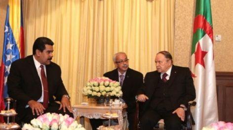Le président Bouteflika félicite Maduro pour sa réélection à la magistrature suprême de son pays