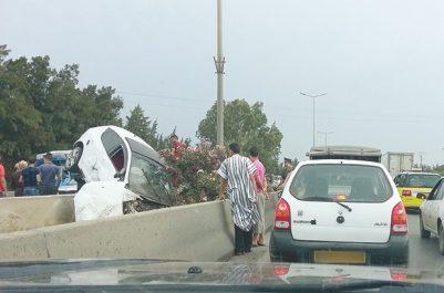 Les accidents et l'incivisme au rendez-vous du ramadhan: Chaos sur les routes
