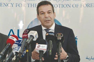 Commerce intra-africain: Djellab aborde avec son homologue égyptien la coopération bilatérale