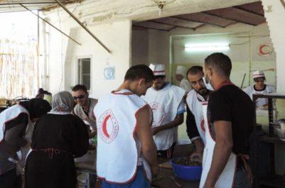 Djelfa : actions de solidarité du CRA au profit des nomades et populations des zones reculées
