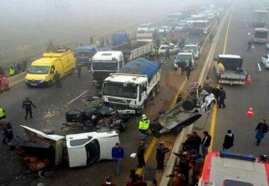 Accidents de la route : 933 morts et 9926 blessés durant les quatre premiers mois de 2018