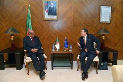 Le représentant spécial de l'UE pour le Sahel évoque avec Messahel le processus de paix au Mali