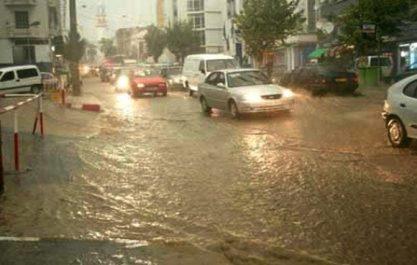 Pluies orageuses attendues mardi et mercredi sur des wilayas de l'Est du pays (BMS)
