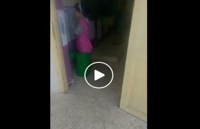 Elle met son élève dans une poubelle : L'enseignante de la langue française justifie son acte