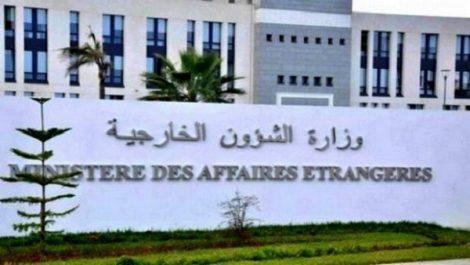 Ferme condamnation de l'Algérie et rejet total des propos irresponsables du MAE marocain