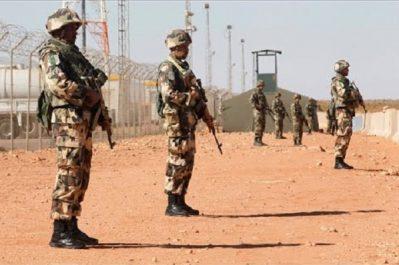 Algérie surveille de près ses frontières sud et sud-est: La situation demeure préoccupante