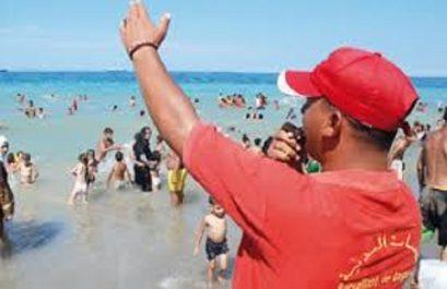 18.000 agents pour surveiller les 398 plages autorisées à la baignade